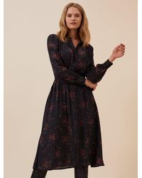 Idano Belen Dress - Noir - Black