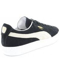 Lyst - PUMA Smash Canvas Men s Sneakers in Black for Men 0f57e10d1