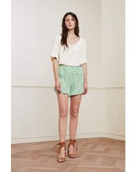 FABIENNE CHAPOT Swoosie Shorts - Green
