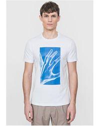 Antony Morato Neon Hand Tshirt White Colour: White,
