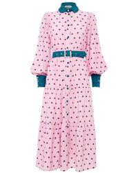 Paolita Thetis Farrow Dress - Multicolour