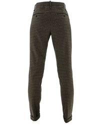 ALBERTO Square Trousers Cotton 6846 1256 085 - Brown