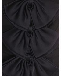 Givenchy Crêpe Jumpsuit With Sain Bows - Black