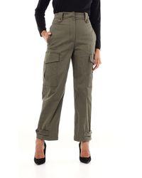 PT Torino Pants Cargo Women Military Green