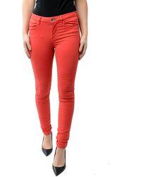 Maison Scotch Bohemienne Skinny Trousers Colour: Chilli - Red