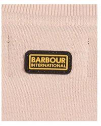 Barbour B.intl Pace Overlayer Sweatshirt Colour: Dusk Pi - Blue