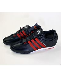 Y-3 Boxing Sneakers Free Uk Delivery - Blue