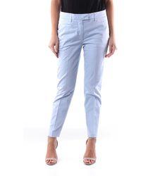 Dondup Pants Chino Women Heavenly - Blue