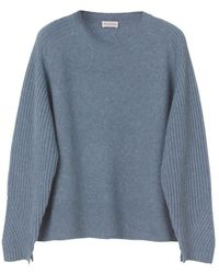 By Malene Birger Ana Sweater - Faded Dove - Blue