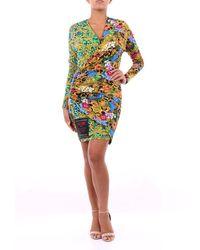 Versace Jeans Couture Dress Short Women Fantasy - Multicolour