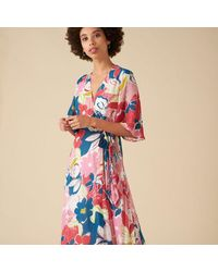 Emily and Fin Chloe Floral Dress - Pink Asilah