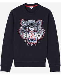 KENZO Icon Tiger Sweatshirt - Blue