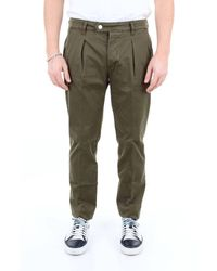 Entre Amis Trousers Chino Men Military Green
