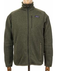 Patagonia Better Sweater Fleece Jacket - Industrial Green Colour: Ind