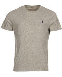 Ralph Lauren T-shirt - Heather Grey