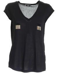 Elisabetta Franchi - Sweaters Black - Lyst