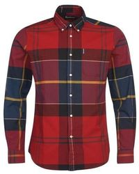 Barbour Tartan 10 Shirt - Red