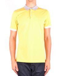 Brunello Cucinelli Polo Shirt In Yellow