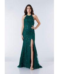 Tiffany & Co. - Illusion Mia Green Prom Dress - Lyst