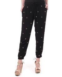 Juicy Couture Jg010327 Embellished Harem Pant - Black