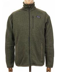 Patagonia Better Jumper Fleece Jacket - Industrial Green Colour: Ind