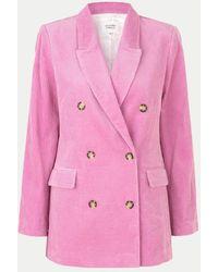 Second Female Donella Moonlight Mauve Blazer - Pink
