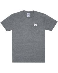 RIPNDIP Rip N Dip Lord Nermal T-shirt - Heather Grey