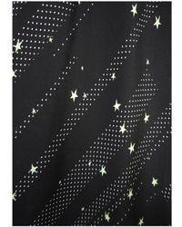 Rockins - Pyjama Silk Top - Lyst