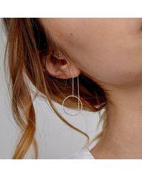 Alison Fern Jewellery Cornelia Earring - Metallic