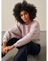 Bellerose Fiksh Sweatshirt In Lilas - Pink