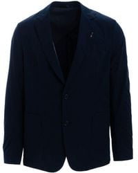 Paul Smith Men's M1r1961f0137049 Blue Cotton Blazer