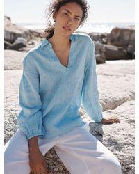 Nrby Claudia Linen Shirt - Blue