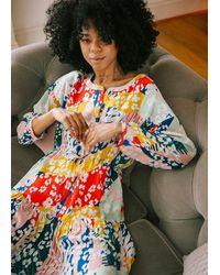 Pyrus Frances Drawstring Dress - Multicolour
