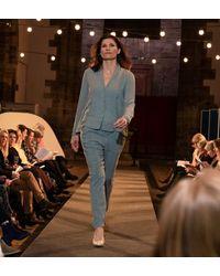 Transit Sheer Sleeve Jacket - Blue