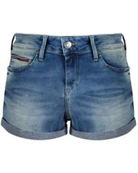 Tommy Hilfiger - Tommy Jeans Women's Classic Denim Shorts - Lyst