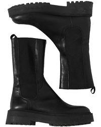 Ichi Felicia Boots - Black