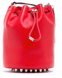 Alexander Wang - Red Bucket Bag - Lyst