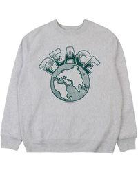 Butter Goods Peace Sweatshirt - Heather - Grey