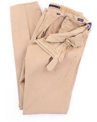 Incotex - Trousers Regular Men Beige - Lyst
