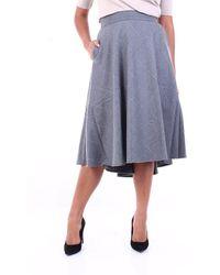 Purotatto Skirts Knee-length - Grey