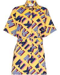 Kirin Kwdb015s20fab0011845 Polyester Dress - Yellow
