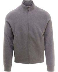 Corneliani Cotton Sweatshirt - Grey