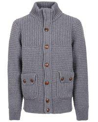 Bark Wool Coat - Gray