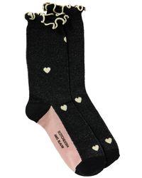 Scotch & Soda Ruffled Socks Combo A - Black