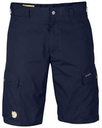 Fjallraven Fjallraven Ruaha Shorts - Dark Navy - Blue