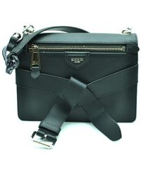 Moschino Cross Body Bag In Black