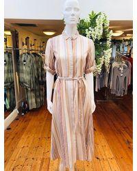 Ilse Jacobsen Marissa Shirt Dress - Pink