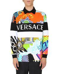 Versace Polo Shirt - Multicolor
