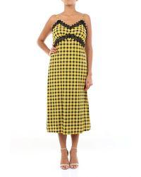 MICHAEL Michael Kors Two-tone Long Dress - Yellow