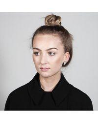 V Jewellery - Deco Fan Earrings - Lyst